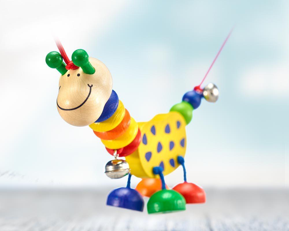 chaine landau bois girafe amusante