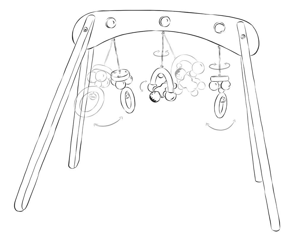 portique d'activites bebe