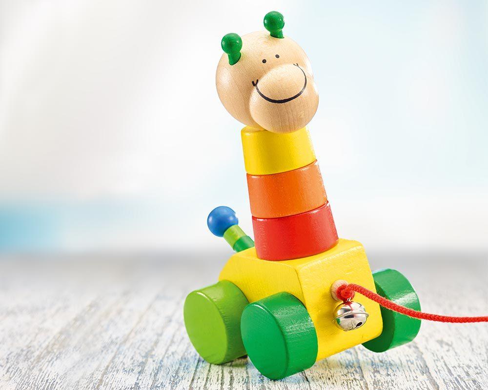 Placer et empiler jouets bois Selecta