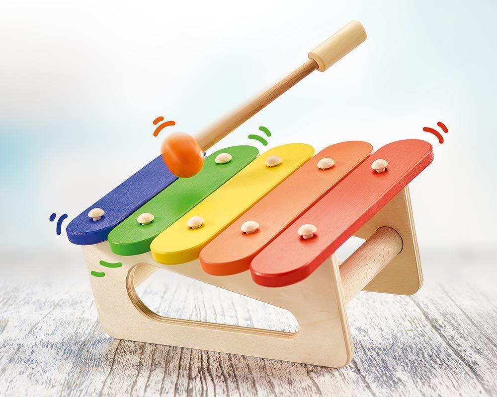 bois xylophone bebe enfants musico
