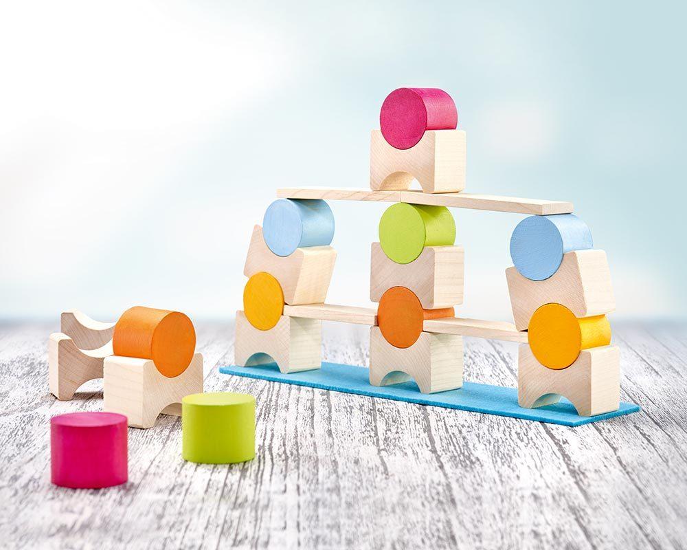 Coloro, blocs pour des constructions très variées jouets