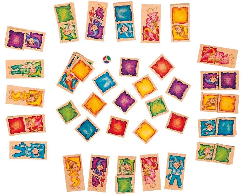 bois jeu de pose jeu de cubes