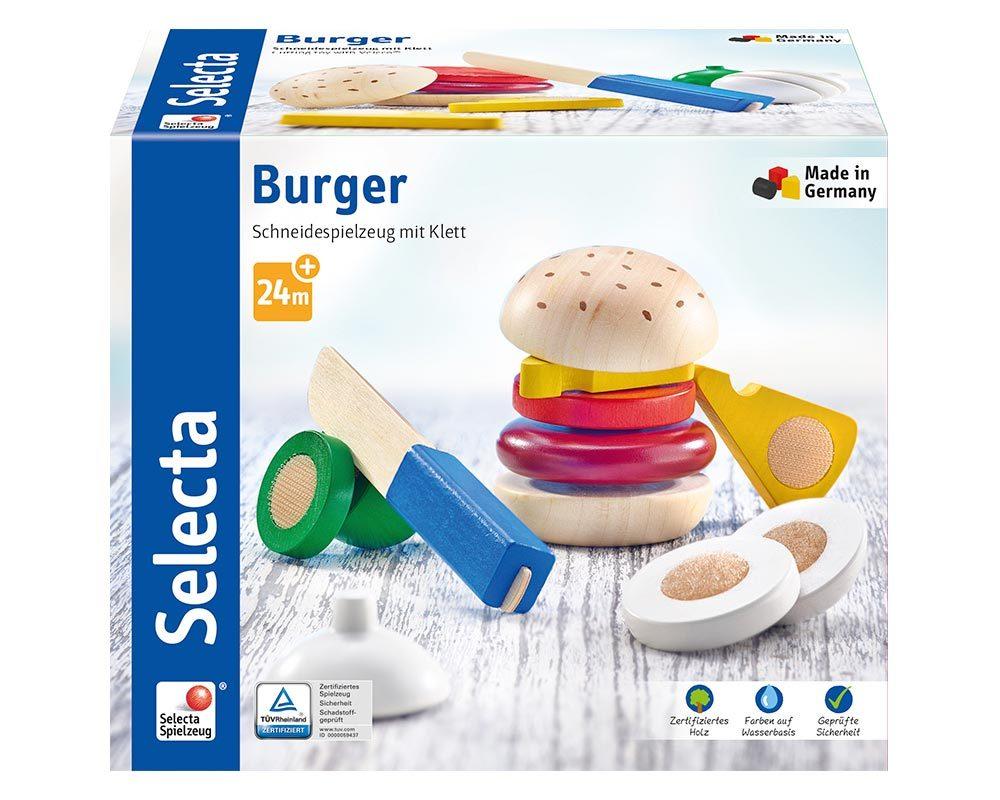 bois cuisine enfants burger