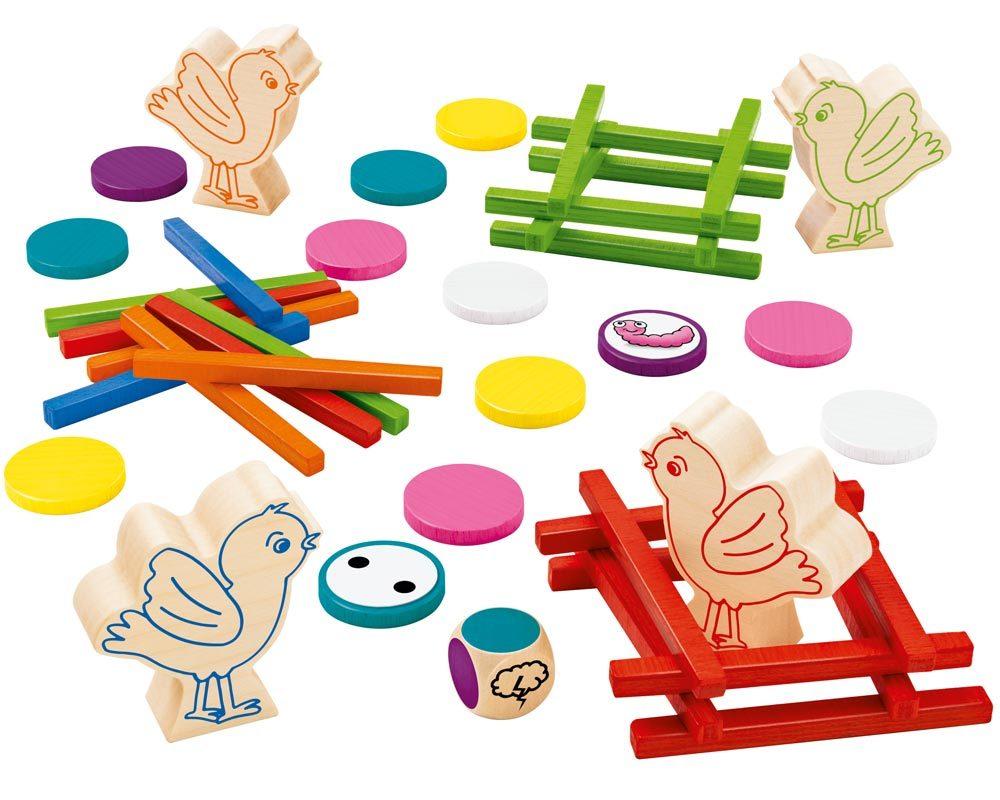 bois jouet a empiler motricite
