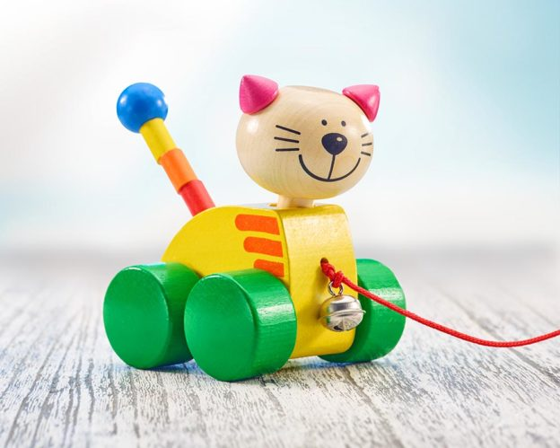 Nachziehfigur Katze Tinka